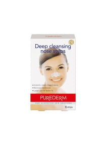 6-Piece Deep Cleansing Nose Strips White