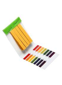 Bluelans 80 Strips Full Range PH Alkaline-Acid Test Paper Yellow One Size