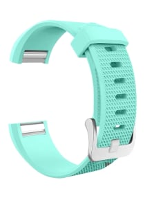Generic Siicone Strap For Fitbit Charge 2 Watch Blue