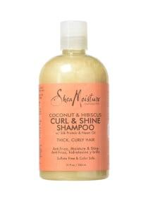 Shea Moisture 2-Piece Coconut Hibiscus Curl And Shine Shampoo Set 13 ounce