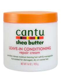 cantu Shea Butter Leave-In Conditioning Hair Repair Cream 16 ounce