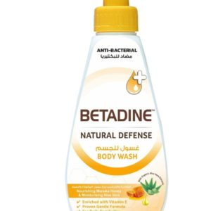 Betadine Natural Defense Anti Bacterial Body Wash Nourishing Manuka Honey for sale in Dubai, Sharjah and other Emirates in UAE