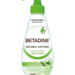 Betadine Natural Defense Anti Bacterial Body Wash Purifying Tea Tree for sale in Dubai, Sharjah and other Emirates in UAE